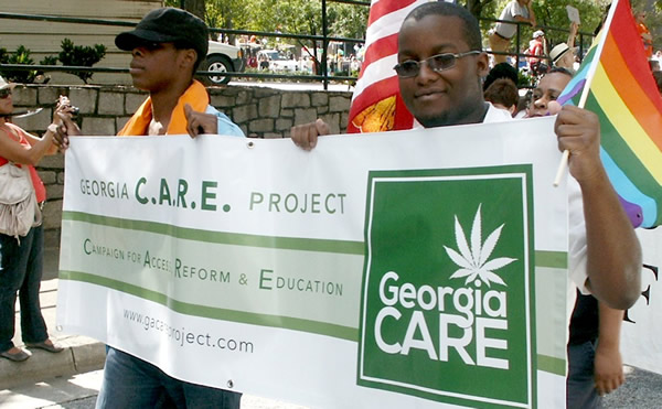 Georgia medical marijuana march