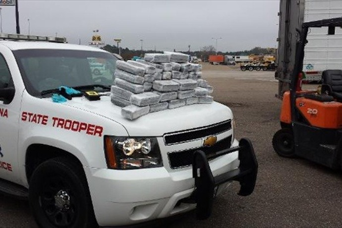 Louisiana Troopers Intercept 200 Pounds of Weed Headed for Atlanta