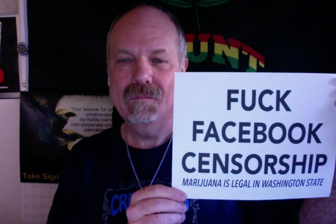 Steve Elliot Facebook censorship