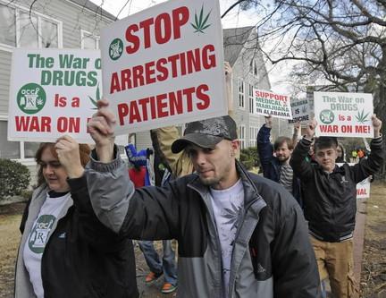 Medical marijuana rally in Alabama