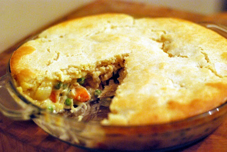 cannabis chicken pot pie