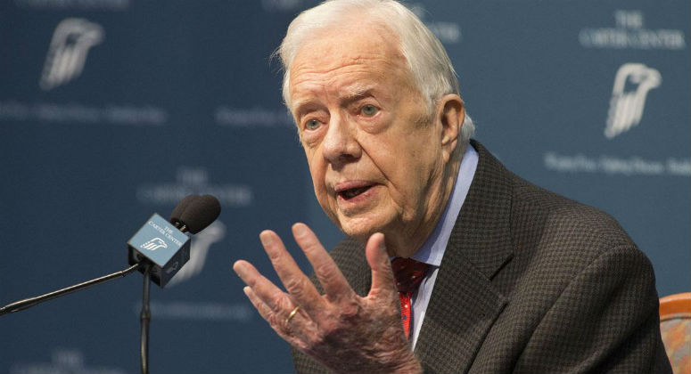Too bad President Carter won't be able to get medical marijuana legally if he needs it