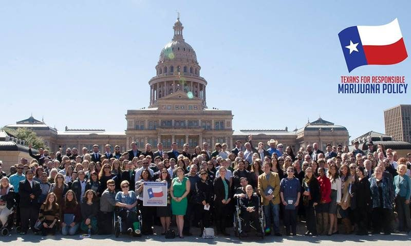 Texas medical marijuana rally