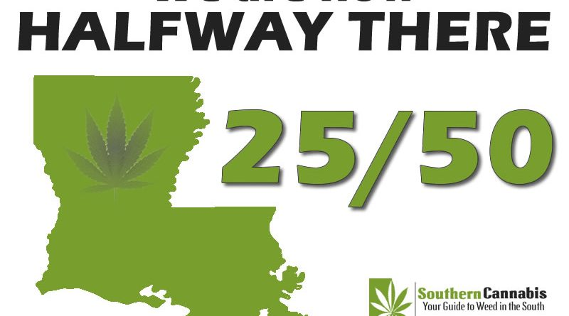 Louisiana Becomes the 25th Medical Marijuana State