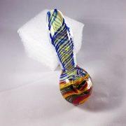 glass rasta pipe