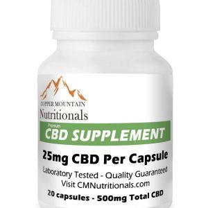 cbd capsules 25mg