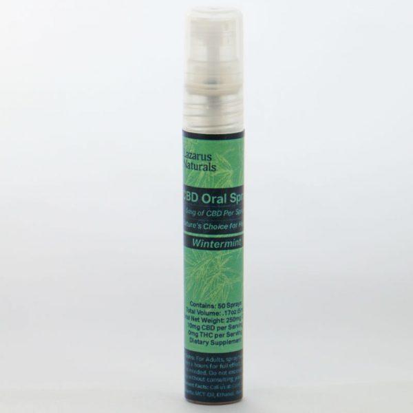 CBD sulbingual spray
