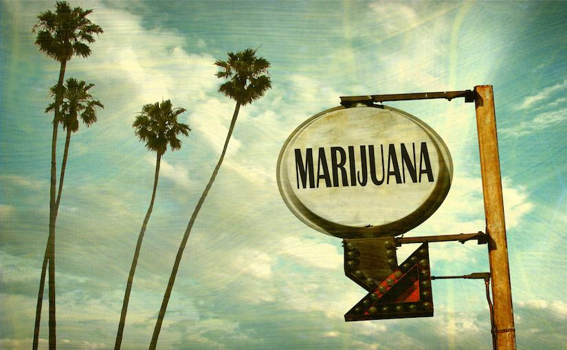 medical marijuana sign