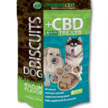 Bacon Flavored CBD Dog Treats