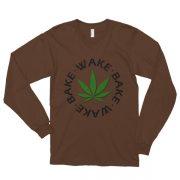 """""""Wake and Bake"""" Long Sleeve T-shirt"""