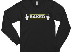 """Baked"" Long Sleeve T-Shirt"