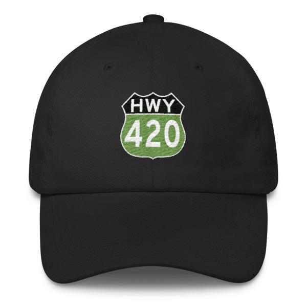 """""""Highway 420"""" Classic Dad Cap"""