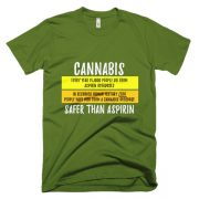 """Safer Than Aspirin"" T-Shirt"