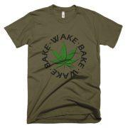 """Wake and Bake"" Short Sleeve T-Shirt"