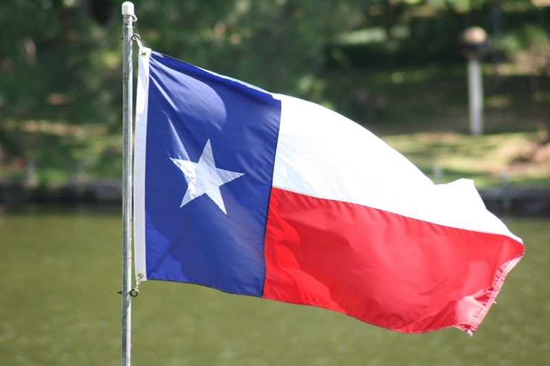 marijuana texas flag